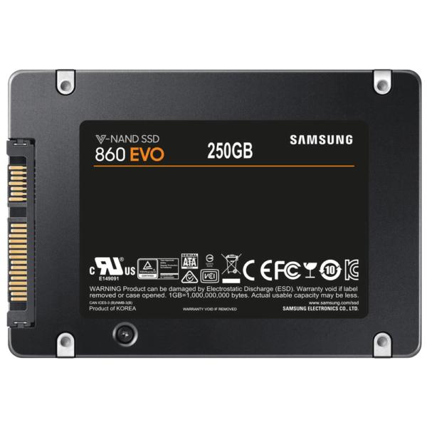 SSD Samsung 250Gb 860 Evo