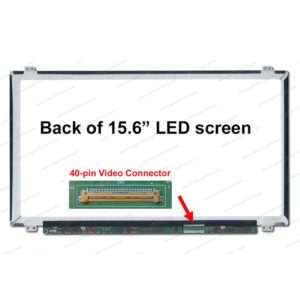 LCD Laptop 15.6 slim 40 pin