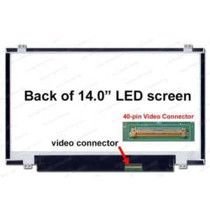 Laptop LCD 14.0 Slim 40 Pin