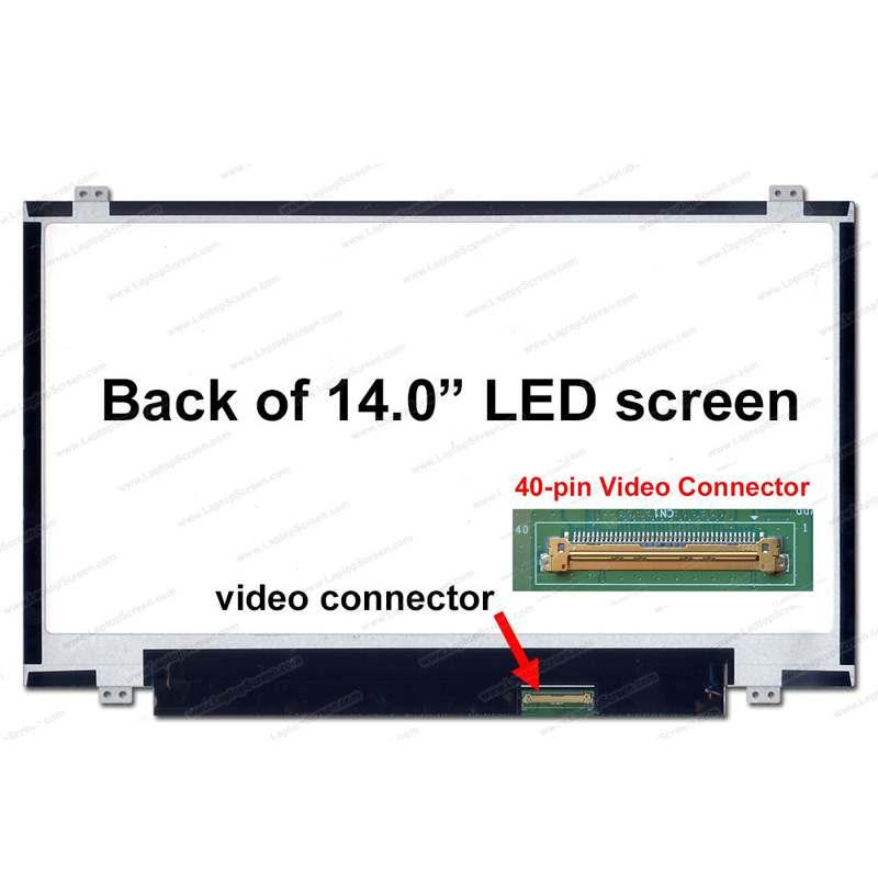 Laptop LCD 14.0 Slim 40 Pin