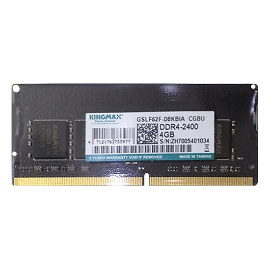 Ram Laptop Kingmax 4G DDR4 bus 2400